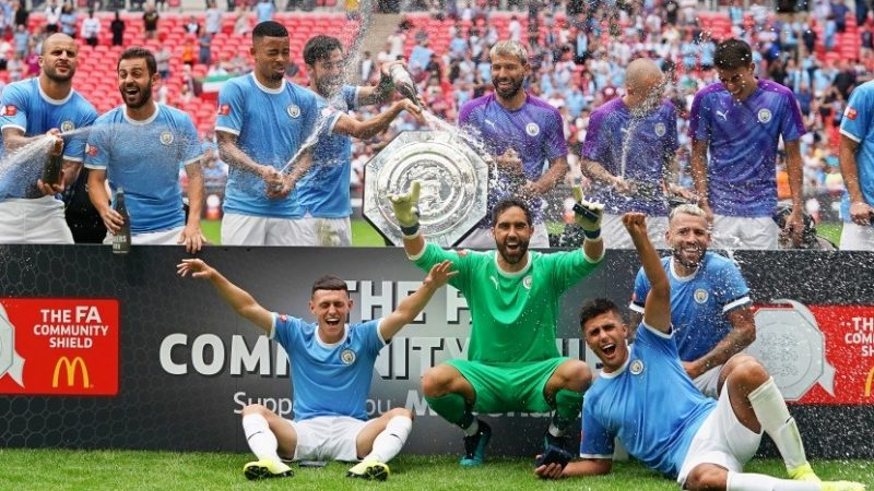 Manchester City Juara Community Shield 2019